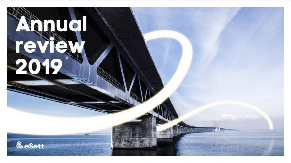 eSett Annual Review 2019 cover image